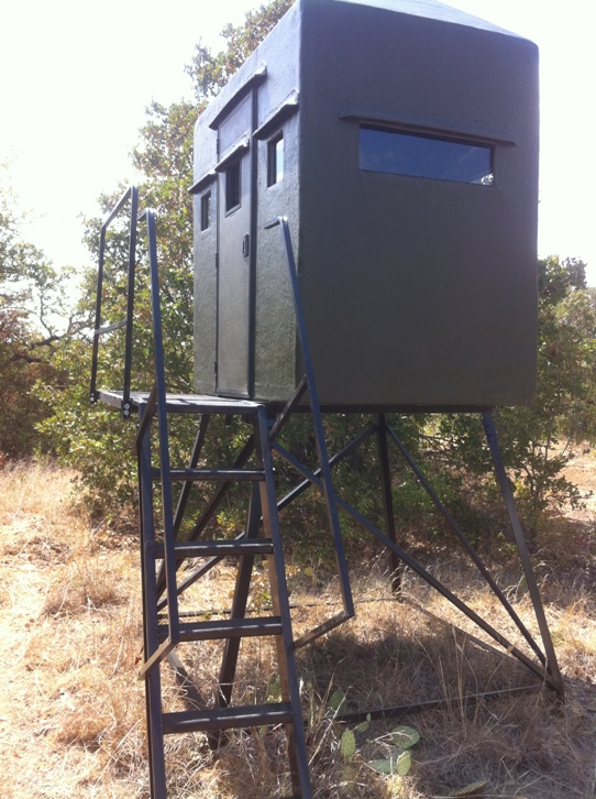 tower blinds by texas deer stands